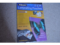 Laminating Pouches Fellowes A3 (303x426mm) 25 Sheets