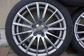 Audi / VW 18 x 8 Fondmetal 7800 Alloy wheels with 18 x 245 x 40 Yokohama Advan sport tyres