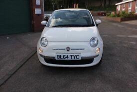 Fiat 500 1.2 Lounge (s/s) 3dr 12 Months Warrnaty Parts & Labour 30243 Mileage