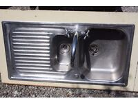 Kitchen Sink Unit - Stainless Steel