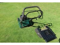 ATCO VISCOUNT roller rotary lawnmower
