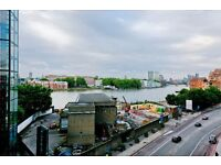 AMAZING LUXURY NEW BUILD 1 BED WITH VIEWS OF THE THAMES