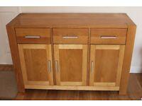 Modern Oak sideboard For sale
