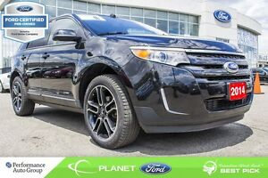 2014 Ford Edge SEL FORD CERTIFIED LOW RATES & EXTRA WARRANTY