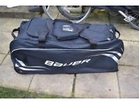 Bauer Premium Wheel Bag for travel or winter sport