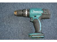 Makita 18volt cordless drill. Body only