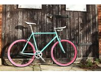 Christmas SALE ! GOKU Steel Frame Single speed road bike TRACK bike fixed gear 6T5