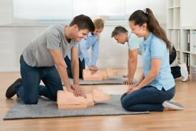 Emergency First Aid and First Aid at Work, Level 3 courses, fully regulated by an accredited body