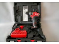 Milwaukee M12CPD-402C M12 Fuel Compact Percussion Drill with 2 x 4.0Ah Li-Ion