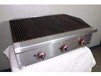 char-broiler gas flame peri peri grill 3 Burner