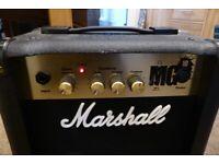 MARSHALL MG10 GOLD GUITAR COMBO AMP - MINT