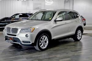 2013 BMW X3 xDrive28i, Panoramic Roof, AWD, Trailer Pkg