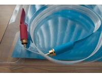 Nordost Blue Heaven Audio interconnect RCA cables 0.6m HiFi