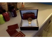 9ct gold watch swap for sumet to the value car van gold try me