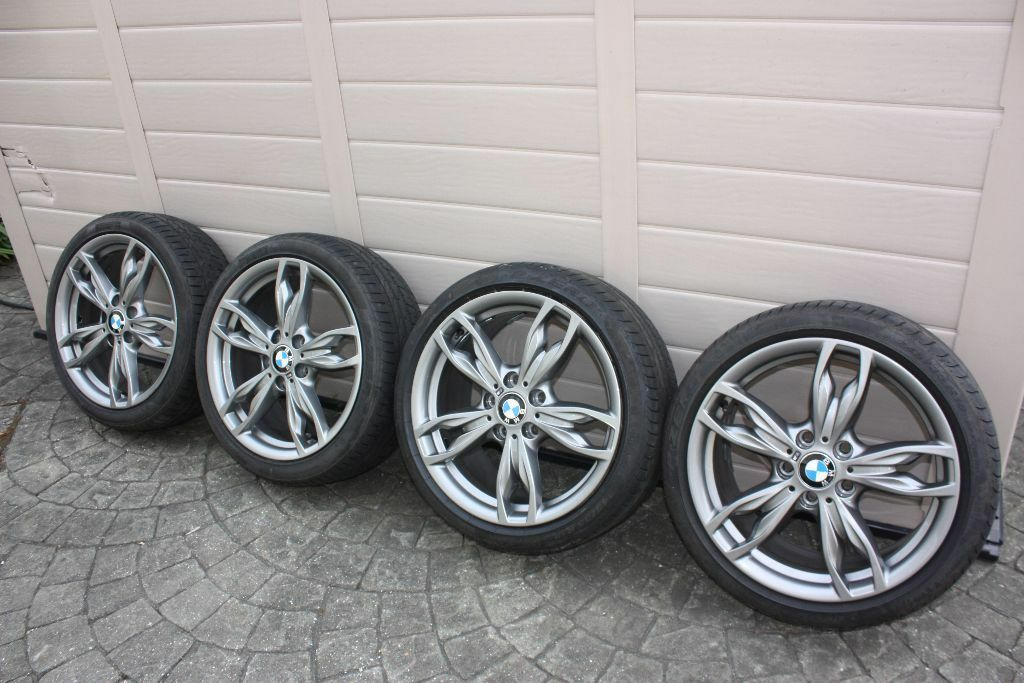 Bmw 436m Msport 18 Quot Alloy Wheels Amp Great Tyres Staggered M135i M235i F22 F21 1 2 3 Series E82
