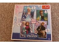 Frozen 4 piece puzzle set
