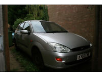 relible and cheap ford focus for quick sale. Almost full MOT.