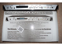 Rocktron Xpression Guitar Multi-Effects Processor / As New !