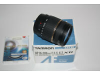 Tamron Lens with UV Filter (For Canon)