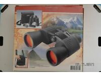 BINOCULARS 10X50 COATED OPTICS. BRAND NEW WITH ALL THE ACCESSORIES