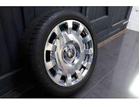 "Rolls Royce 20"" Forged fully polished alloy wheels"