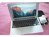 "Macbook Air 11.6"" A1370 Dual core i5 1.67Ghz (Turbo Boost 2.3Ghz) 2Gb ram, 64Gb SSD, mint condition!"