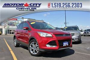 2013 Ford Escape SEL Low K's EcoBoost Heated Leather Seats Sun R