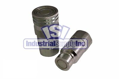 Quick Coupler Iso 16028 Flat Face 12 Npt High Pressure Stucchi