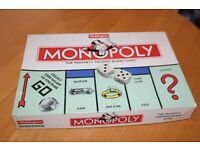 Monopoly board game family fun traditional waddingtons property