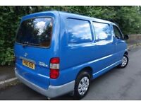 1997 TOYOTA HIACE 2.4 D , 1 OWNER FROM NEW, LOW GENUINE MILES, HPI CLEAR not hilux
