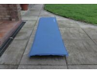Lichfield Self-Inflating Camping Mat, Scuba Blue