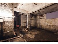 Incredible industrial film / photography location studio for daily hire kingsland road hackney e8