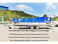 Anhängervermietung, Anhängerverleih in Lüd.-Brügge, 24h geöffnet! Nordrhein-Westfalen - Lüdenscheid Vorschau