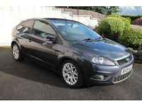 Focus 2.0TDCi Zetec 3 Dr 136PS 6 Speed with Sports Pack etc - 2009 -2 owners - full history