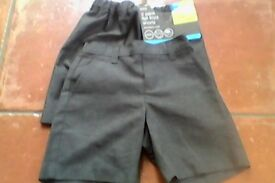 New M&S Boys Grey School Shorts aged 5 yrs BARGAIN