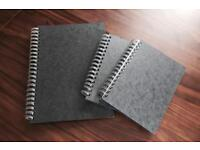Art and Design workbooks