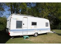 Caravan already sited in Loire Valley, France - for sale - £5500
