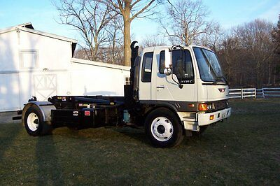 95 Hino Hooklift Refuse Truck Roll Off 10-15mpg Cdl 33k Gvw Air Only 73k Miles