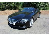 "08 BMW 635D M SPORT LCI CONVERTIBLE AUTO TIPTRONIC ++FULL HEATED LEATHER , XENONS , 19"" ALLOYS ++"