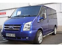 Ford Transit Tourneo 9 Seater, 2.0 Diesel. Immaculate Condition MOT'd