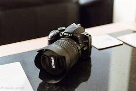 Nikon D3200 with 18-105mm VR Lens Digital SLR Camera - Black + 18-55mm VR Kit lens .