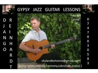 Gypsy Jazz Guitar Teacher