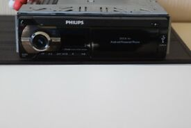PHILIPS BLUETOOTH/USB/RADIO/AUX IN/WIRES/CAGE/SUB CONNECTION