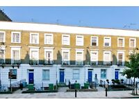 3 DOUBLE BEDROOM SPLIT LEVEL FLAT WITH EAT IN KITCHEN & GARDEN CLOSE TO CAMDEN & MORNINGTON CRESCENT