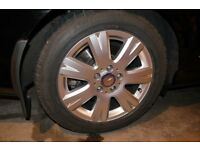 Mercedes alloy wheels and winter tyres