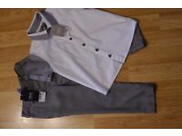 Boys Next Smart Shirt and Trousers - Age 2/3 - Brand New With Tags.
