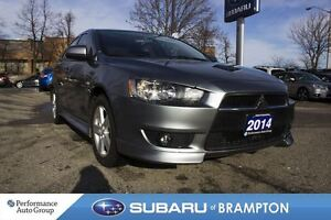 2014 Mitsubishi Lancer SE|SUNROOF|MANUAL|FWD
