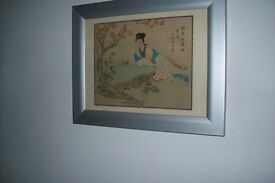 JAPANESE PICTURE OF GEISHA LADY