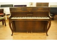 August Forster upright walnut piano - Tuned & UK delivery available