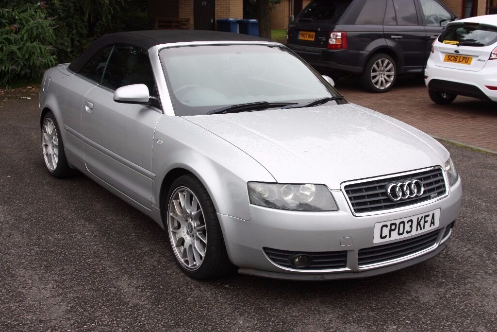 Audi A4 Sport 18t Convertible S Line In West End Glasgow Gumtree